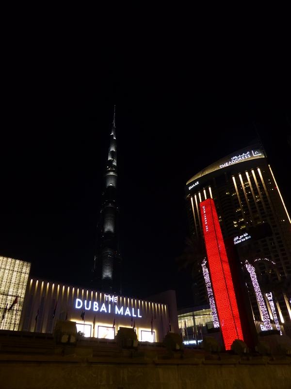Dubai Mall - selbst für Shopping-Pros einfach zu groß!