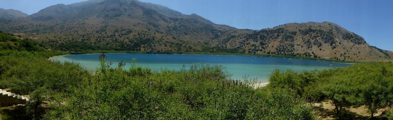 Süßwassersee in Kournas