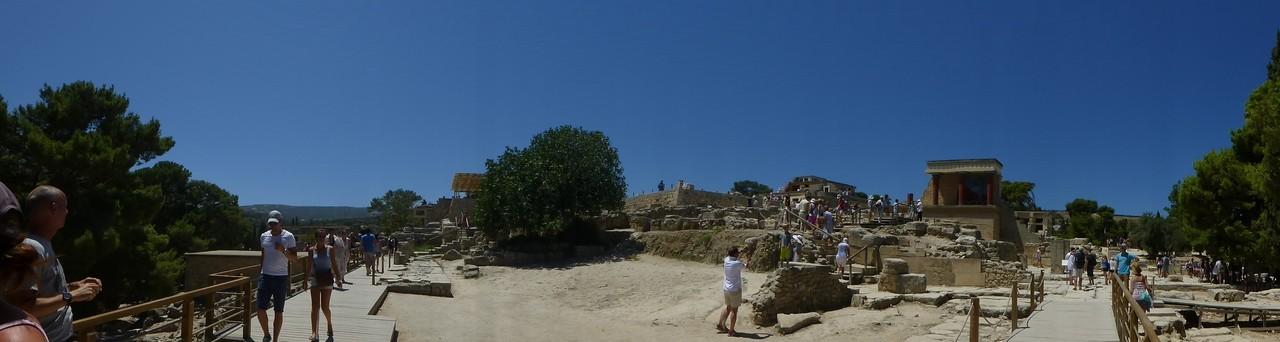 Panorama von Knossos
