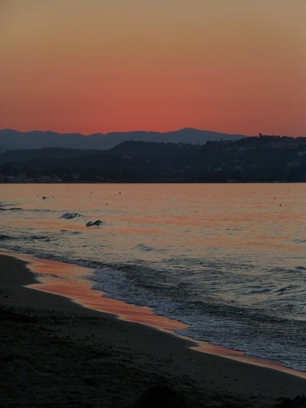 Sonnenuntergang - wir waren zu spät