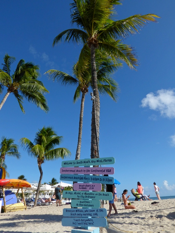 Southernmost beach ...