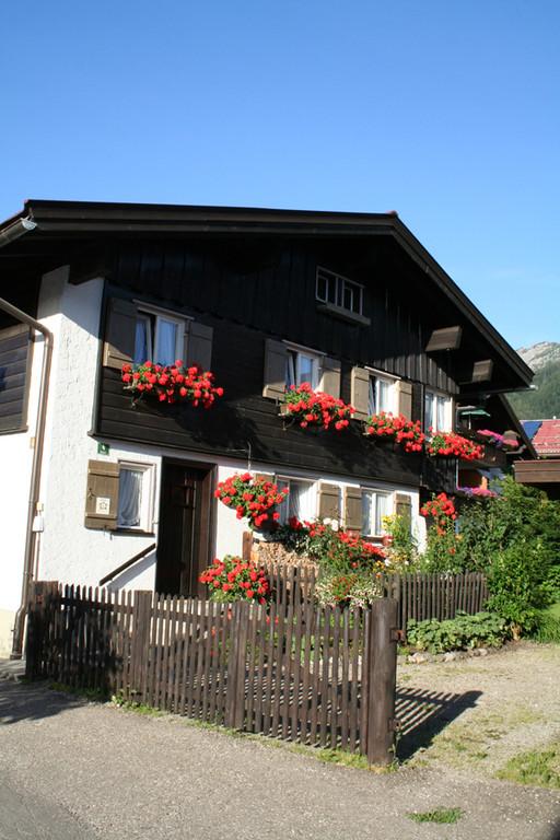 Unsere antike Unterkunft in Oberstdorf
