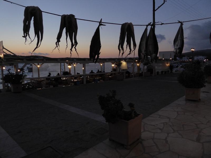 Hafen von Aliki
