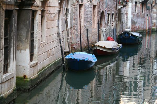 Parkplätze in Venedig