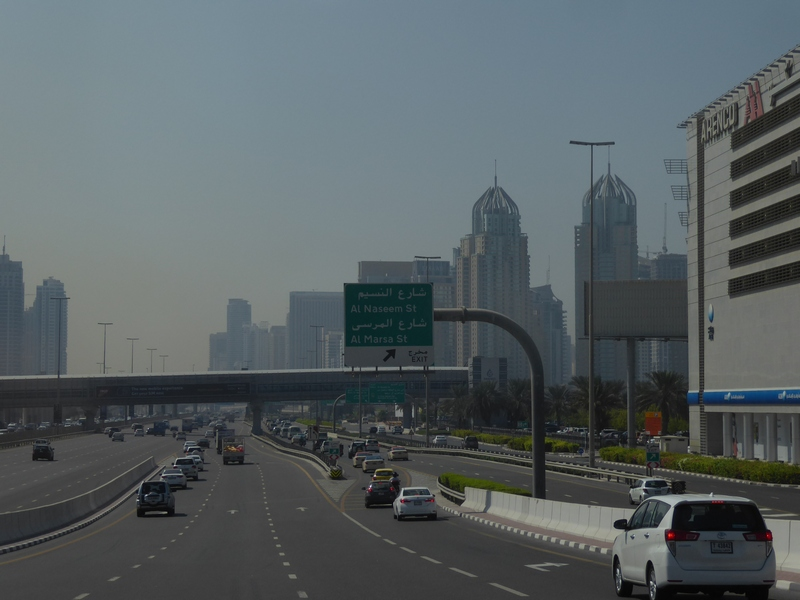 Und nochmal der Verkehr: Diesmal Internet-City