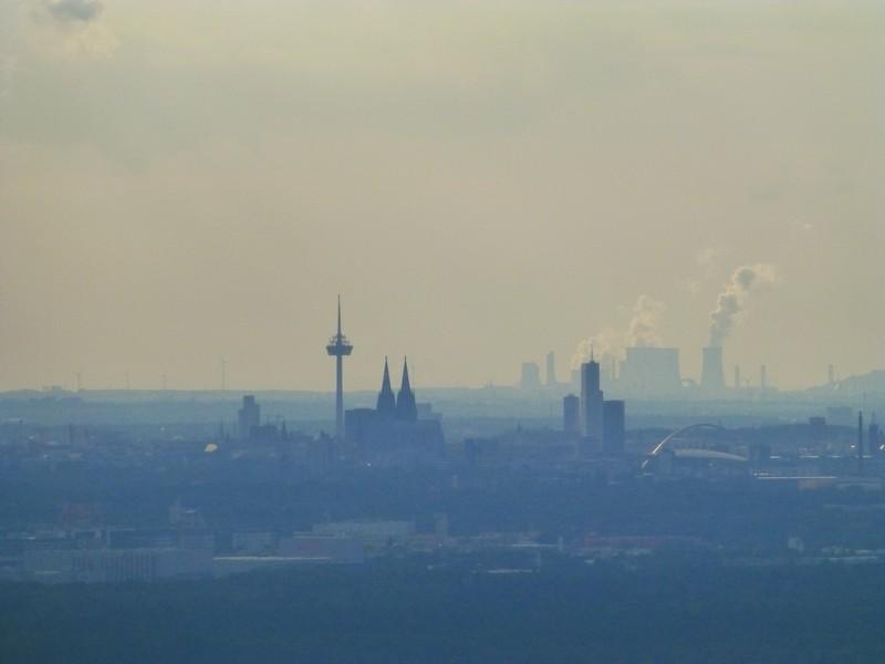 Anflug Köln/Bonn