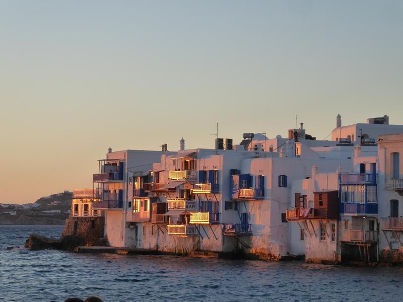 Klein Venedig im Sonnenuntergang