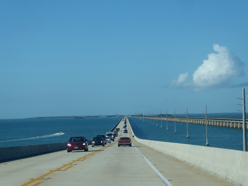 Schnurgerader Highway 1 nach Key West