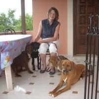 Claudia mit Peppino, Lotti und Bruno