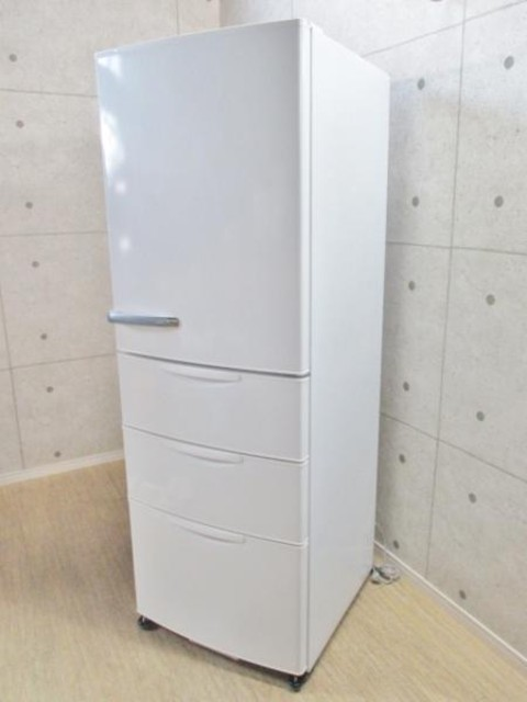 2015年355L4ドア冷蔵庫札幌買取18000円