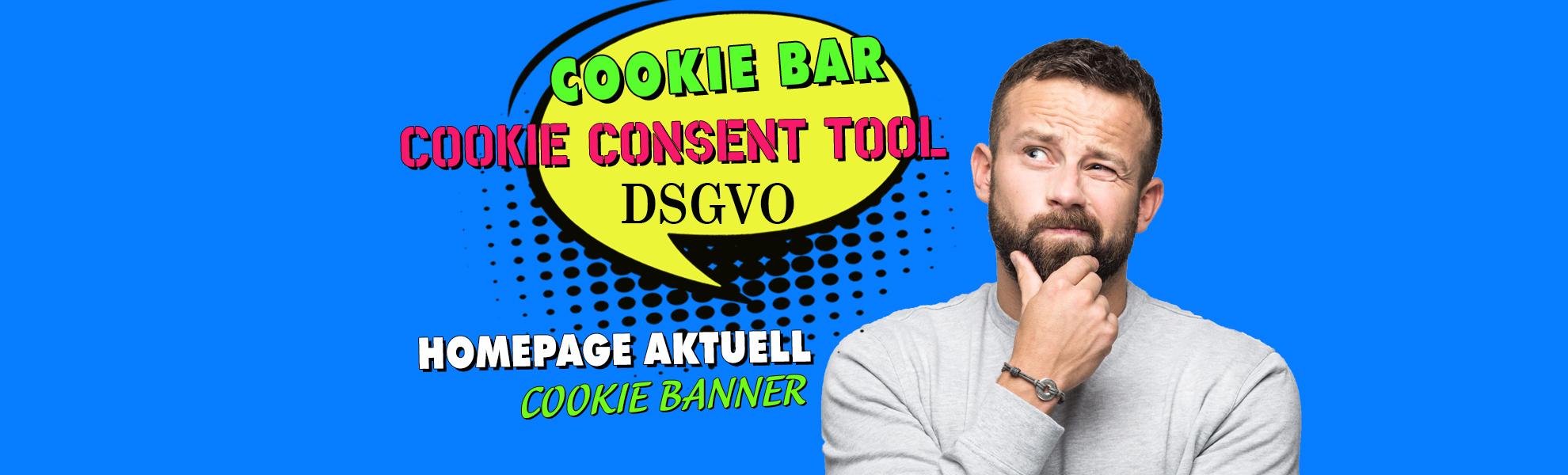 Datenschutzverordung DSGVO: Das Cookie Consent Tool