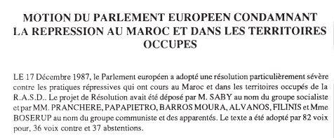 Henri Saby est député européen