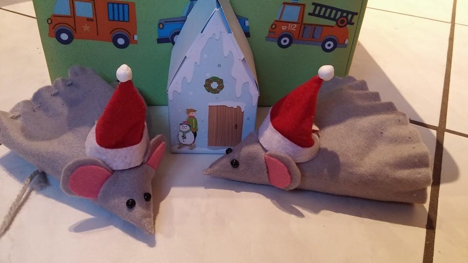 kleine Weihnachtsmäuse