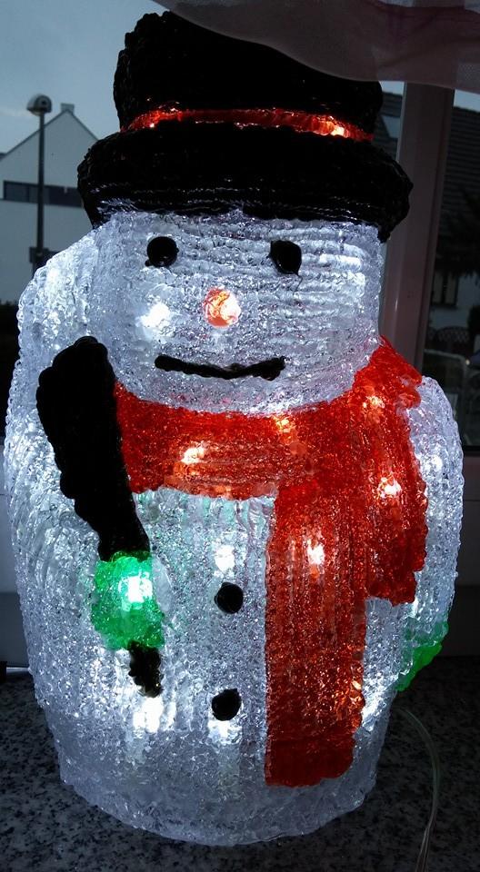 unser Schneemann-Licht