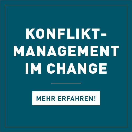 Konfliktmanagement, Changemanagement