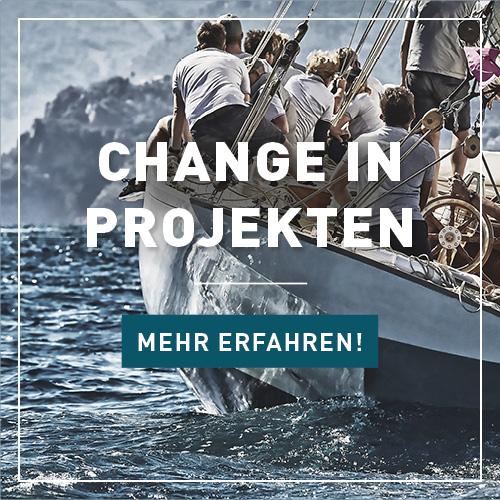 Changemanagement, Projekt, Projektmanagement