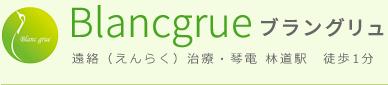 Blangrue(ブラングリュ)|美容鍼・遠絡(えんらく)治療・琴電 林道駅 徒歩1分