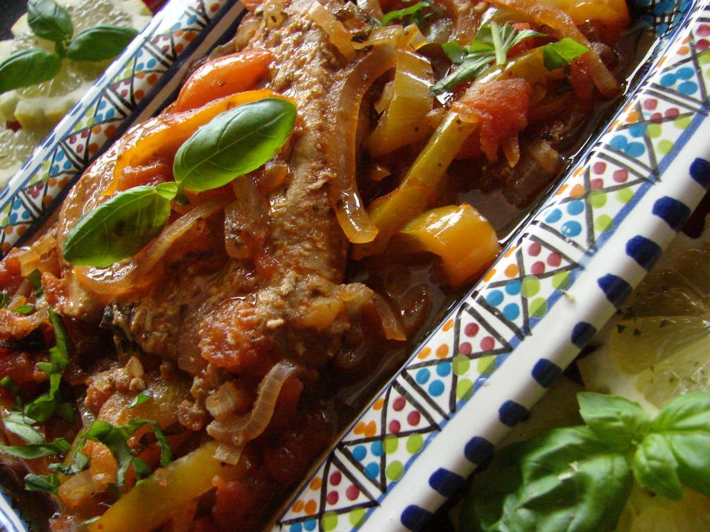 Thunfischsteak tunesisch