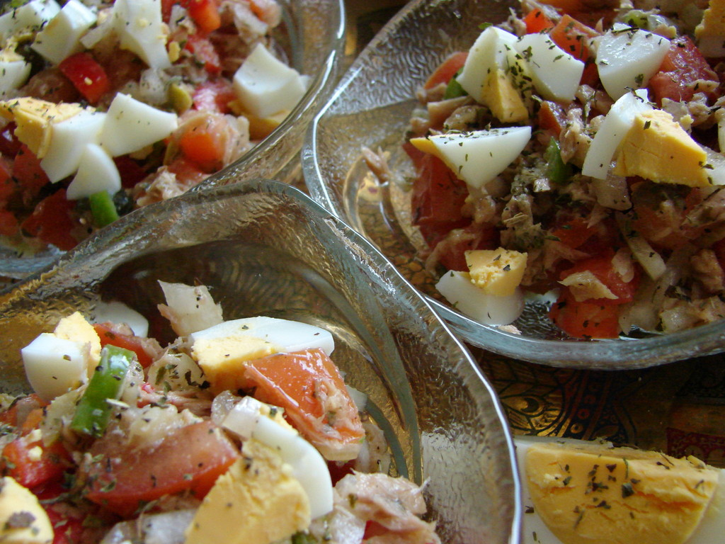 Tunesischer Thunfischsalat
