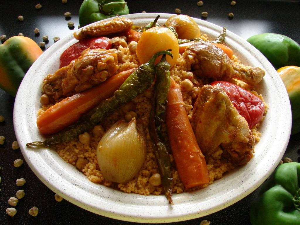 Couscous mit Huhn