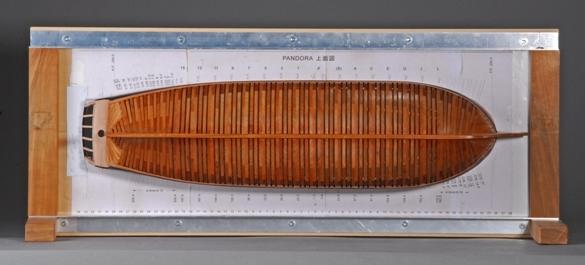 34-57  パンドラ  PANDORA  国 籍    nationality     イギリス 建造年    age     1779 縮 尺    scale    1/64 製作方法 scratchbuilt     自作 製 作:前川 政司 Masashi Maekawa