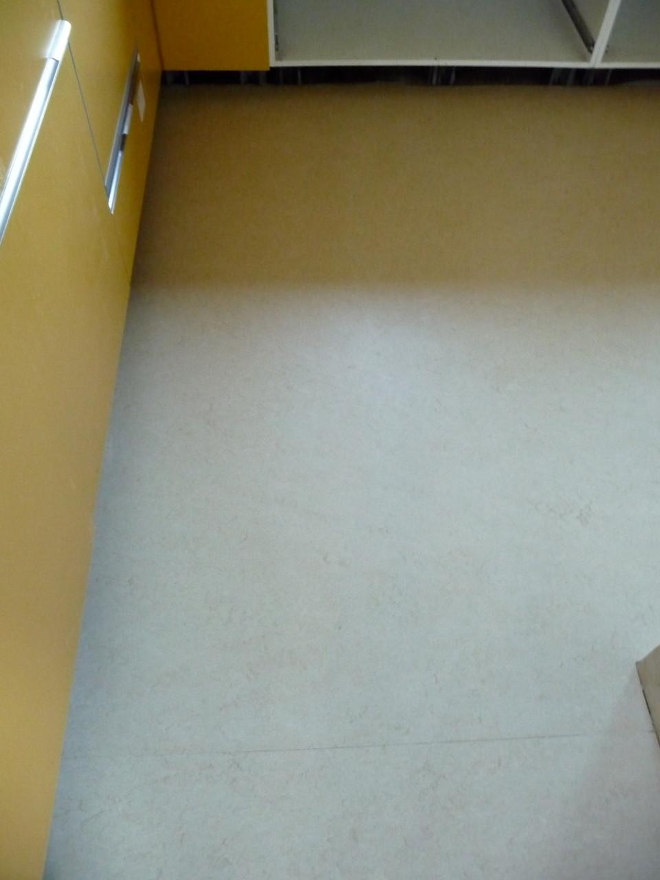 Neuer Küchenfußboden!