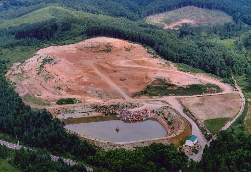 中舘建設㈱ 産業廃棄物最終処分場