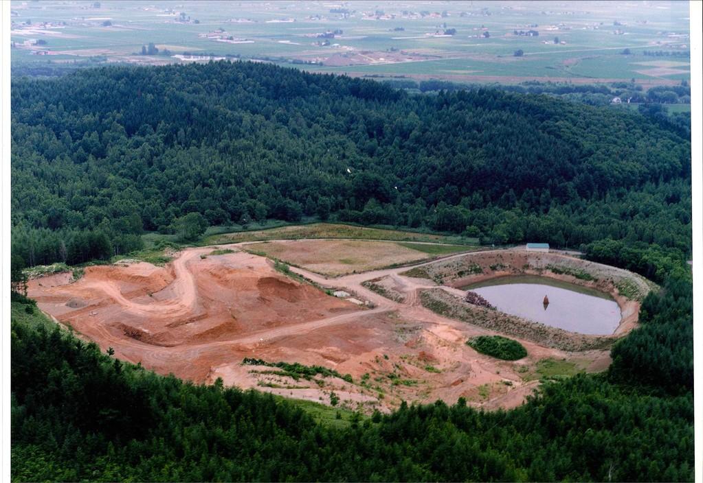 中舘建設㈱ 土砂採取場