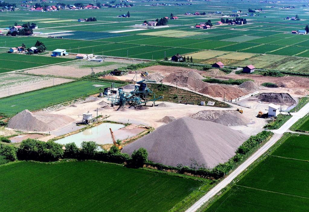 中舘建設㈱ 砂利プラント