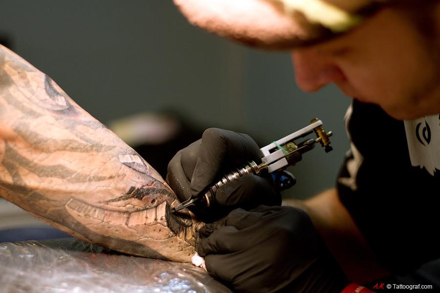 Pavel Angel Tattoo Expo Zwickau 2012