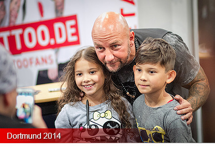 Tattoo Convention Dortmund 2014