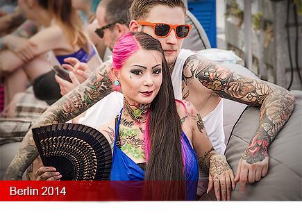 Tattoo Convention Berlin 2014