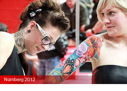 Tattooconvention Nürnberg 2012