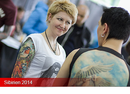Tattoo Convention Sibirien 2014