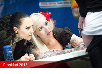 Tattoo Convention Frankfurt 2013