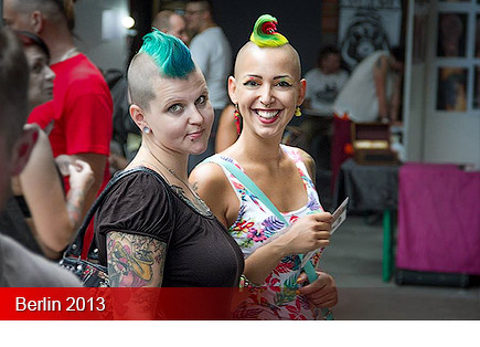 Tattoo Convention Berlin 2013