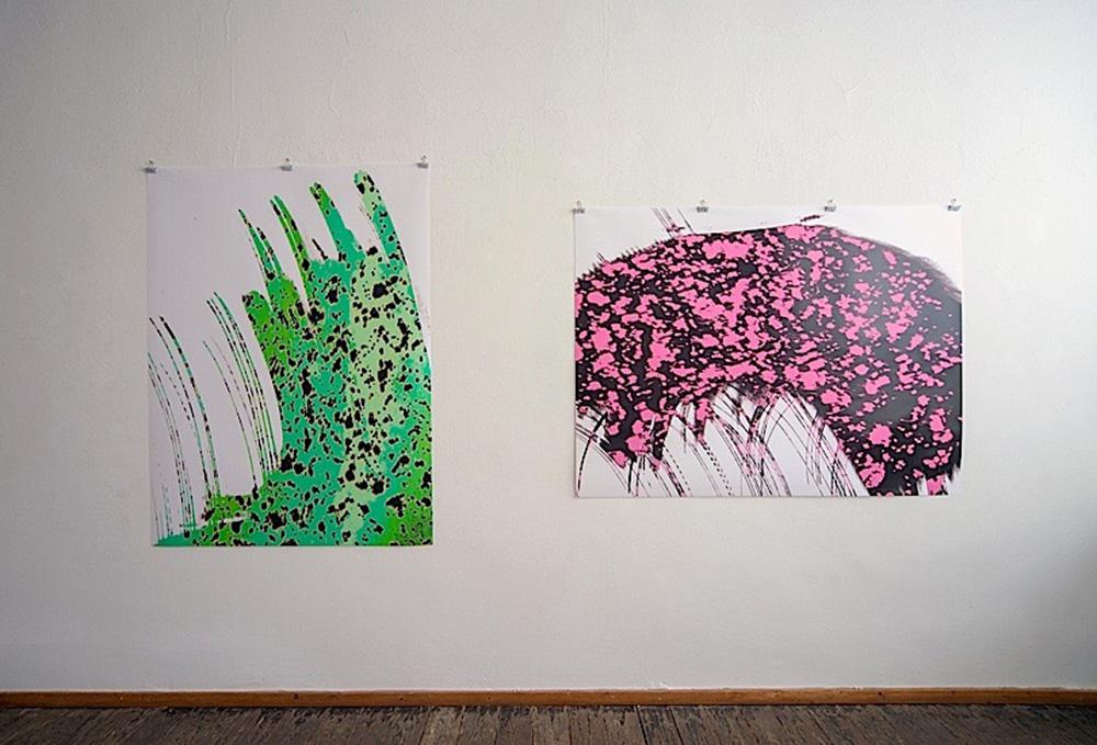 lichtermehr #2 und #1, 160x120cm