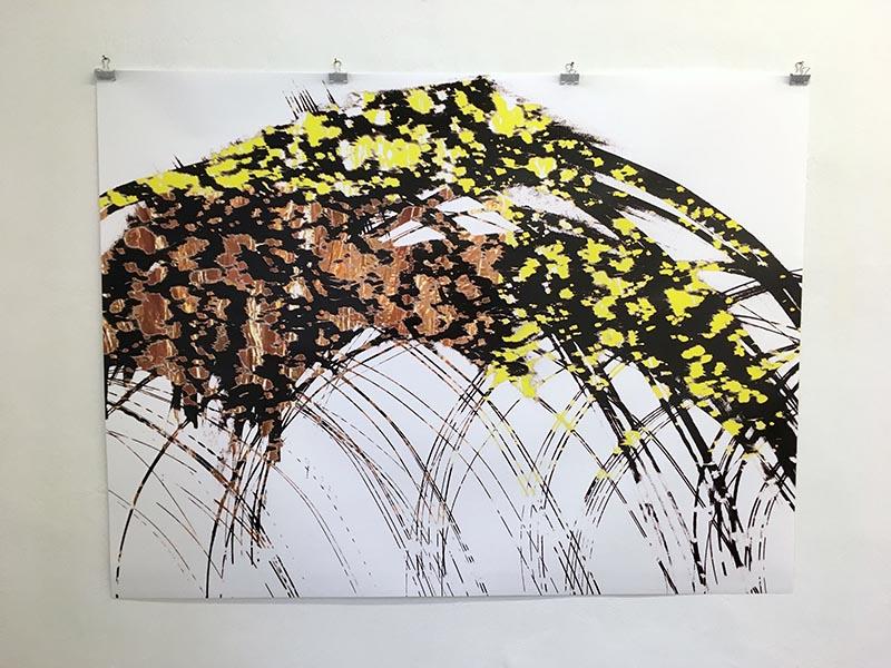 lichtermehr #3, 120x160cm
