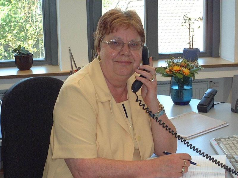 Heidemarie Botzenhart (Rechtsanwaltsfachangestellte und Kanzleivorsteherin bis 2014)