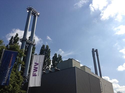フライブルク市の地域熱供給、ガスコージェネ主体のこの施設では3万人分の熱と5万人分の電力を供給