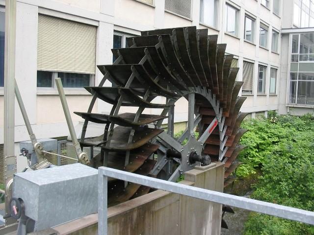 フライブルク市内には小水力もたくさんあります
