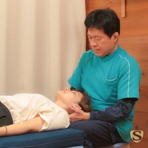 頸椎のソフトな矯正