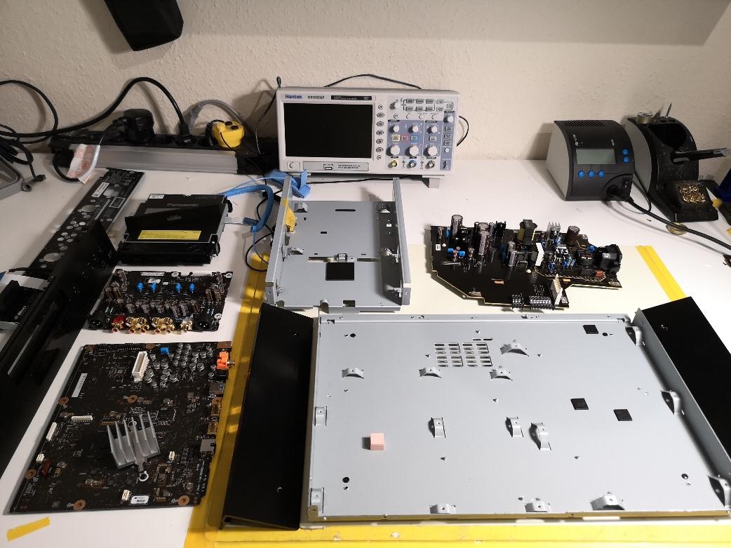 Panasonic DP-UB9004 9000 PCB´s