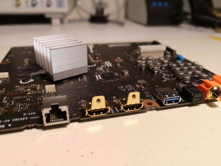 PAnasonic DP-UB9000 90004 HDMI Board