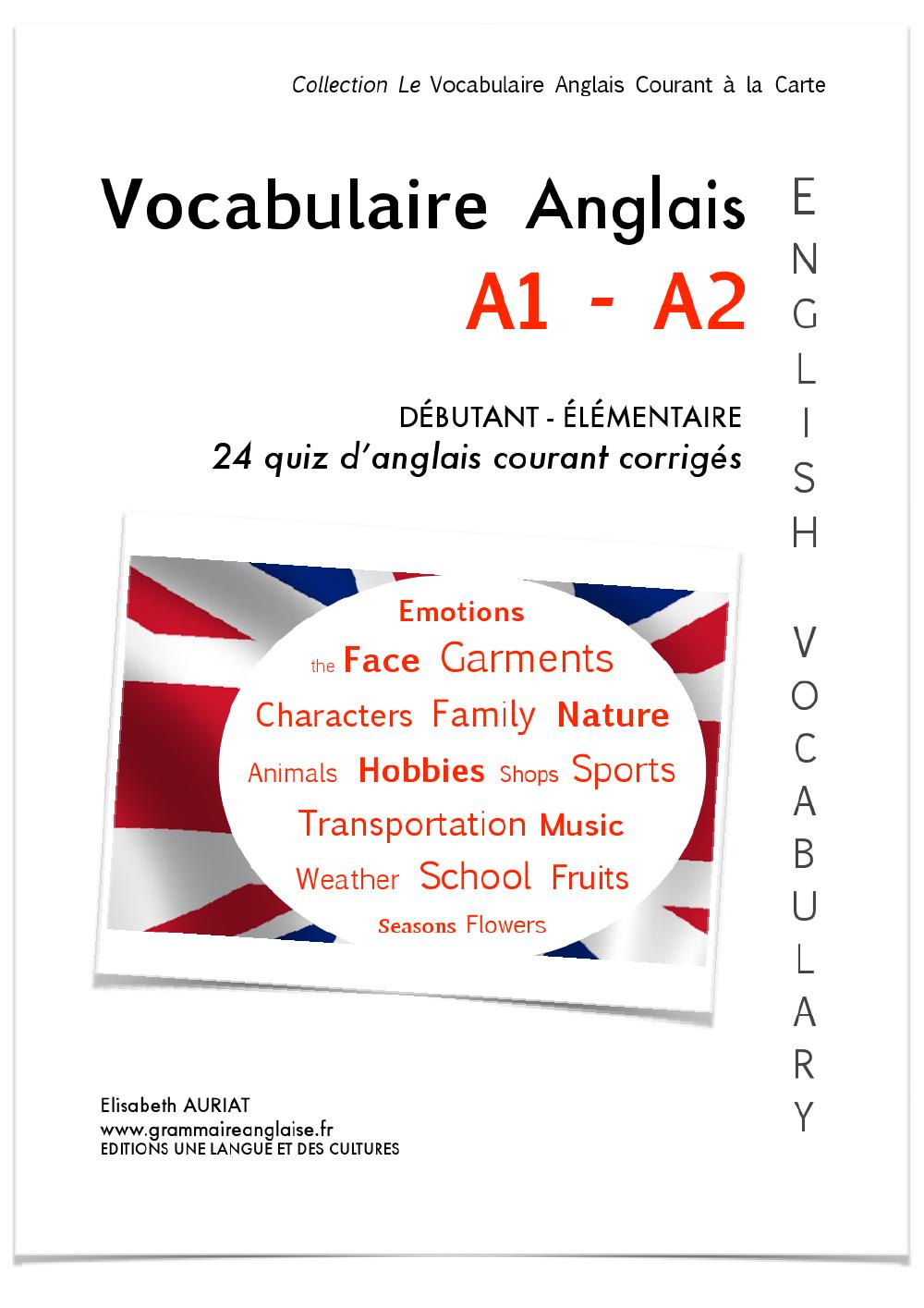 Vocabulaire Anglais En Ligne