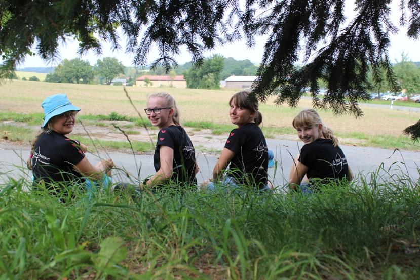 Stella, Lara, Renée und Lilly