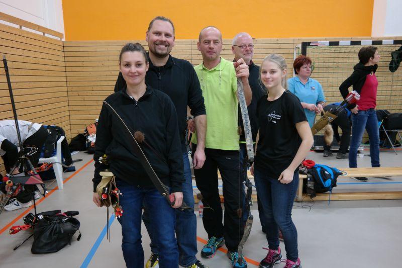 Erster Hallentest - Jena 30.12.2016