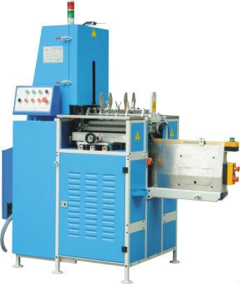 Maquina semiautomatica p. encuadernar c. pastas duras