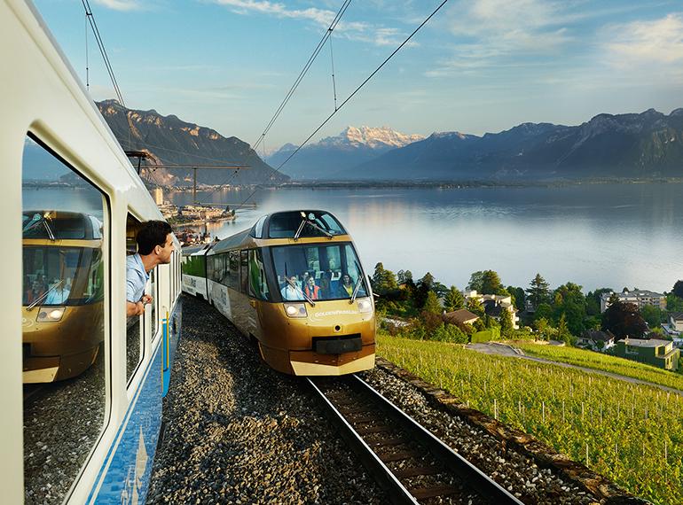 Swiss pass golden pass line Interlaken