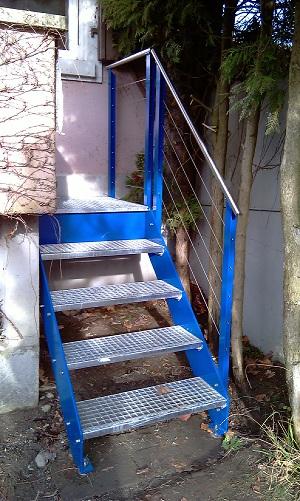 Treppenaufgang zu Balkon